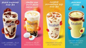 thiết kế tờ rơi trà sữa