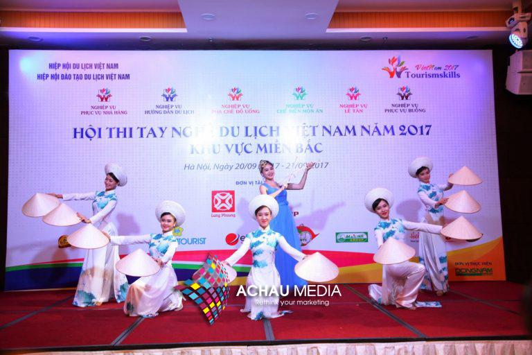 Hội thi tay nghề du lịch Việt Nam do a chau media tổ chức