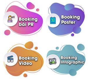 Dịch vụ booking quảng cáo