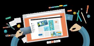 dịch vụ chăm sóc nội dung Website cho công ty thiết kế