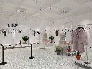 hệ thống cửa hàng thời trang